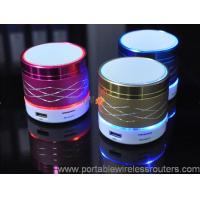 China Mini Colorful Light Shinning marquee Portable Bluethooth Speaker support mobile remote control operation wholesale