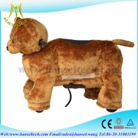China Hansel coin operated childrens rides car electrical toy animal ride 4 wheels bikes on sale
