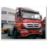 China SINOTRUCK Golden Prince 4x2 tractors truck / prime mover for pulling Container trailer chassis wholesale