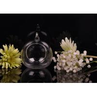 China Borosilicate Glass Hanging Tealight Candle Holders ASTM Passed wholesale