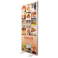 China Single Sided SEG Fabric Frames Advertising Light Box 85 * 200 Cm Graphic Size wholesale