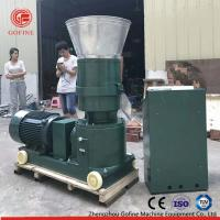 China Flat Die Type Pellet Mill Machine For Worm Waste Making Organic Fertilizer on sale