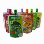China Flexiable PET / PE Spout Pouch Packaging For Drinking Juice Moisture Resistance wholesale