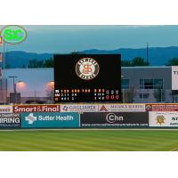 Buy cheap P10 Football Stadium LED Display Billboards Advertising WIFI Control from wholesalers