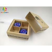 China PVC / Kraft Custom Printed Paper Boxes , Gift Box Packaging With Transparent Window wholesale