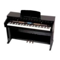 China Light Rosewood Multifunctional 88 Key Digital Piano With Large Screen Display DP8808A wholesale