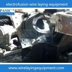 China PASIC CNC electrofusion fittings pad;pe fittings wire laying machine for electrofusion pad wholesale