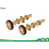 China Easy Install Brass Toilet Bolts Set Of Two For Connection Of Close Coupled WC wholesale