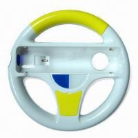 China Racing Car Steering Wheel with Several Colors Available, Suitable for Wii wholesale