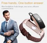 China Smart Bluetooth Sports Activity Bracelet , Touch Screen Smart Watch Wristband wholesale