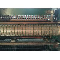 China Green Welded Wire Mesh Machine High Production Efficiency Compact Structure wholesale