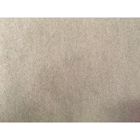 China Professional Polyester Velvet Fabric , Polyester Fabric Waterproof Camel Color wholesale
