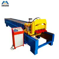 China Color Steel Plate Aluminium Glazing Roofing Tile Forming Machine 18 Rows wholesale