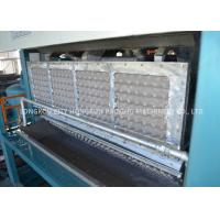 China Full Automatic Rotary Type Pulp Tray Machine , Auto Egg Carton Forming Machine on sale