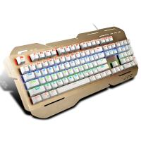 China Rainbow Light Up Ergonomic Gaming Keyboard With ABS Plastic Base wholesale