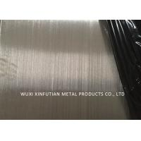 China Hairline Finish 304 Stainless Steel Sheet Thickness 0.28MM Corrosion Resistance wholesale