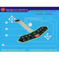 China Abrasion Resistant Touch LED Membrane Switch Keypad With Metal Dome wholesale