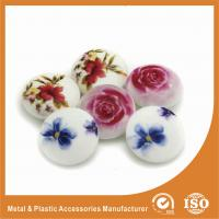 China Silkscreen Rose Buttons Garment Accessories Custom for Shirt , bag , suit , sweaters wholesale