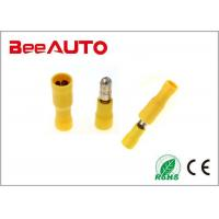 China Fully Female & Male Crimp Terminal Connector , Heat Shrink Resistan Electrical Crimp Terminals wholesale