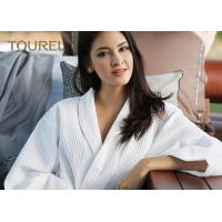 China Fully Stocked Velour Fancy Fluffy Luxury Cotton Bathrobes For Women wholesale