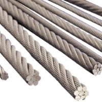 China Stainless steel wire rope 1x37 on sale