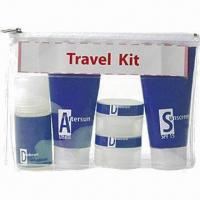 China Promotional Travel Kit/Travel Bottle Set/Lotion Refill Bottles wholesale
