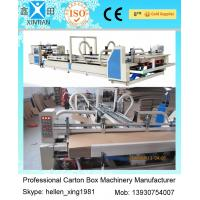 China Vacuum Feeding Carton Making Machine Stainless Steel With Touch Screen Control System wholesale