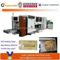 Quality S-300 Flat Bottom Paper Bag Making Machine With PP window for sale