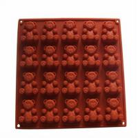 China Non - toxic Custom Flexible Silicone Cake Molds with Tensile Strength 10.2 Mpa wholesale