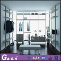 China luxury aluminum profile modern design innovative cloth modular wardrobe wholesale