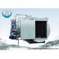 China Sliding Door Superheated Water Spray Pharmaceutical Autoclave For Infusion Solution on sale