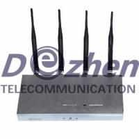 Buy cheap Remote Control Wireless Phone Jammer + 25 Meters from wholesalers