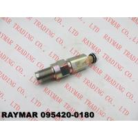 China DENSO Genuine fuel pressure limiter 095420-0180 for ISUZU XS FRR 6HK1 8976015150, 8-97601515-0 wholesale