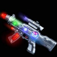 Buy cheap Colorful Outdoor Glow In The Dark Toy Gun Self - Loading Party Favor from wholesalers