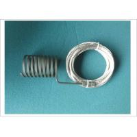 China Custom Heating Elements Electric Coil Heater With Thermocouple J 220V 800W wholesale