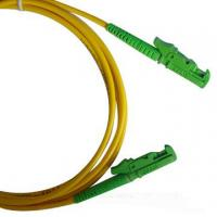 China LSZH 3.0mm cable diameter Single-mode low insertion loss E2000 Fiber Optic Patch Cord wholesale