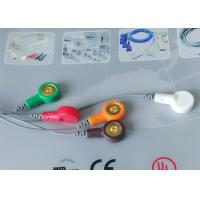 Quality Snap Electrode Ecg Accessories Holter Cable 5 Leads For Patient Use for sale