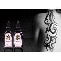 China Black Permanent Tattoo Ink 30ml / 1oz / Bottle Permanent Makeup Tattoo Ink on sale