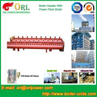 China Industrial Steam CFB Boiler Header / Low Loss Headers Low Pressure wholesale
