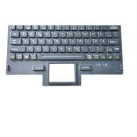 China OEM customs military keyboard with red backlight and front panel mounting wholesale