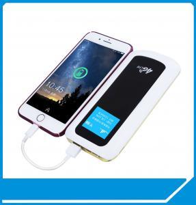 Quality 4G LTE Pocket Hotspot 8000mAh Powerbank MIFI Router global roaming CAT4 CAT6 LTE for sale