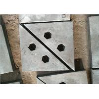 China Chrome-Moly Steel triangle wear plates for crusher machine and ball mill wholesale