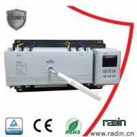 China 200 Amp Manual Transfer Switch 100A To 1250A With Auto Recovery Hotels 60Hz wholesale