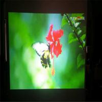 China Gray Rear Projection Film / 3D Holo Display With Self Adhesive Layer 100 Thickness wholesale