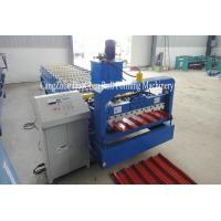China High Speed Roofing Sheet Roll Forming Machine / Roof Metal Former wholesale