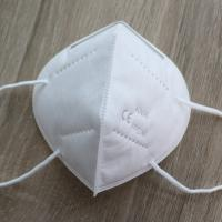 China 3D Cup Shape Foldable Dust Mask , Non Woven Kn95 Respirator Masks For Outdoor wholesale