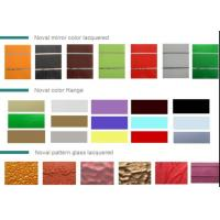 China Colored  Lacquered Glass wholesale