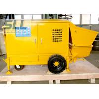 China Easy Operation Small Shotcrete Pump For Grouting Pump Spraying 7-15 M3/H Output wholesale