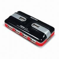 China 7-port USB2.0 Hub, Supports Bus and Self Power Modes wholesale