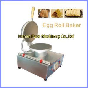 China egg-biscuit-roll machine, egg roll making machine wholesale